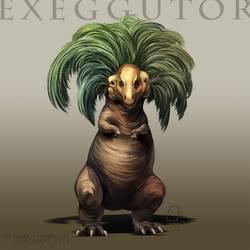Type Collab: Exeggutor by ShadeofShinon
