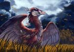 YCH Commission: Autumn Breeze