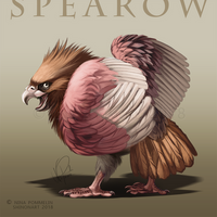 Type Collab: Spearow by ShadeofShinon