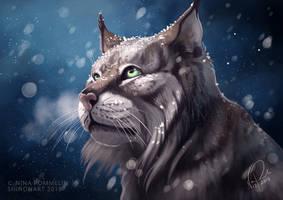 Frostbreath II [TIMELAPSE] by ShadeofShinon