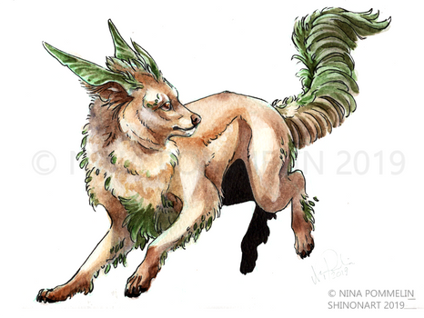 Pokeddex Your Choice DAY 9 - Leafeon
