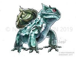 Pokeddex Your Choice DAY 13 - Bulbasaur by ShadeofShinon