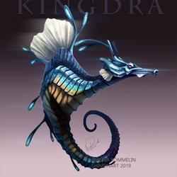 Gen Collab: Kingdra by ShadeofShinon