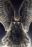 Old Gods: Day 12 - Horned Owl