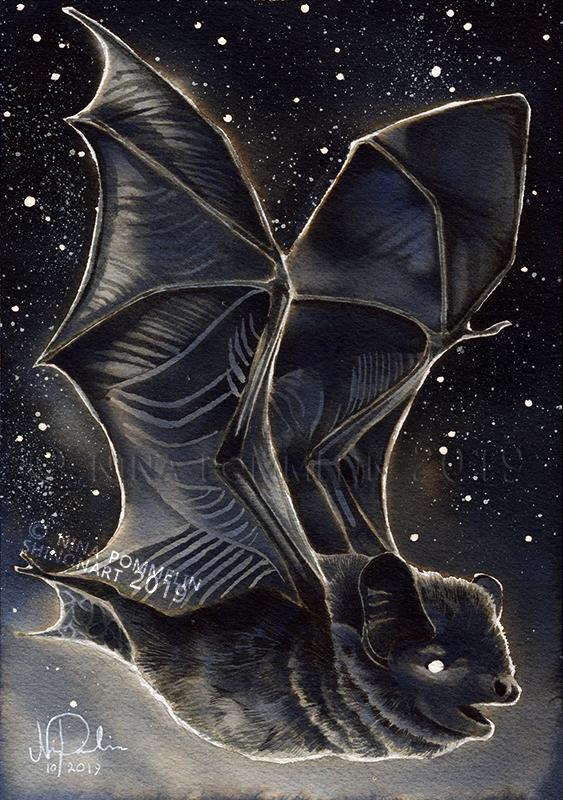 Old Gods: Day 17 - Bat