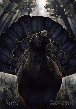 Old Gods: Day 29 - Wood Grouse