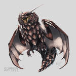 Smaugust: Large Frogmouth