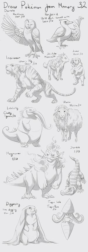 Draw Pokemon from Memory 32
