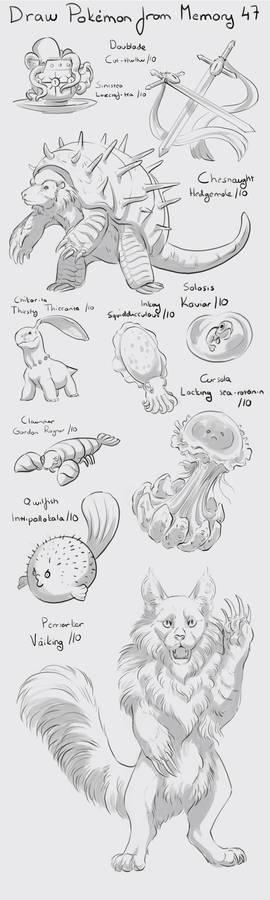 Draw Pokemon from Memory 47