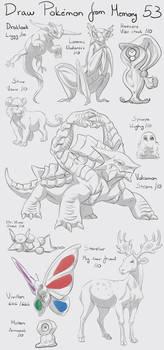 Draw Pokemon from Memory 53