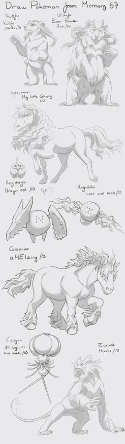 Draw Pokemon from Memory 57