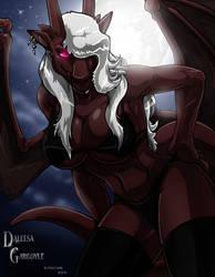 Night Gargoyle by wsache007
