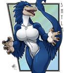 Raptor gal Shyla