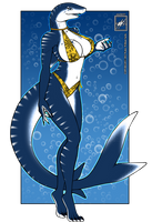Shark Babe by wsache007
