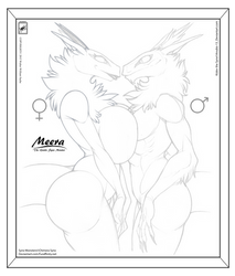 Anubis-13 gift art_Meera meets Kislev in progress by wsache007