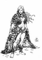 Card Game: Char_Design_Forest Witch by geniuspen
