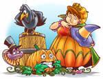 Pumpkin afraid..?