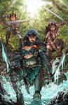 Commission  Art Trio Colored