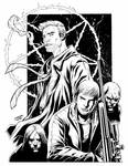 Crossover David of Ghost Assassin and Constantine