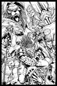 BEASTMODE comic poster