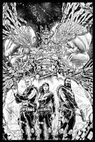 Infinity Agents Cover by geniuspen