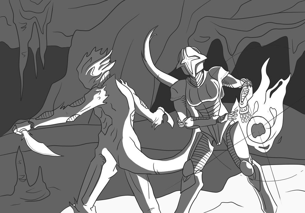 Caustic Caverns - The Forlorn - Quasis and Edana by Metalks