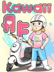 Kawaii self portrait by usagifinley
