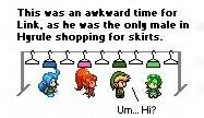 Candid Nintendo: Awkward Link by 8-Bit64