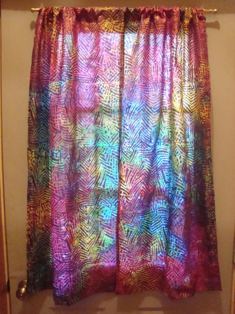 Hippie beaded door curtains - Rainbow Hippie Curtains By Freespiritetrnalsoul On Deviantart