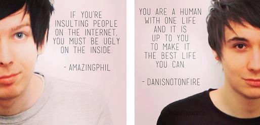Dan and Phil Quotes