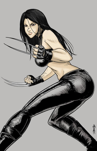 digital quick sketch - X23 by MLAYCO
