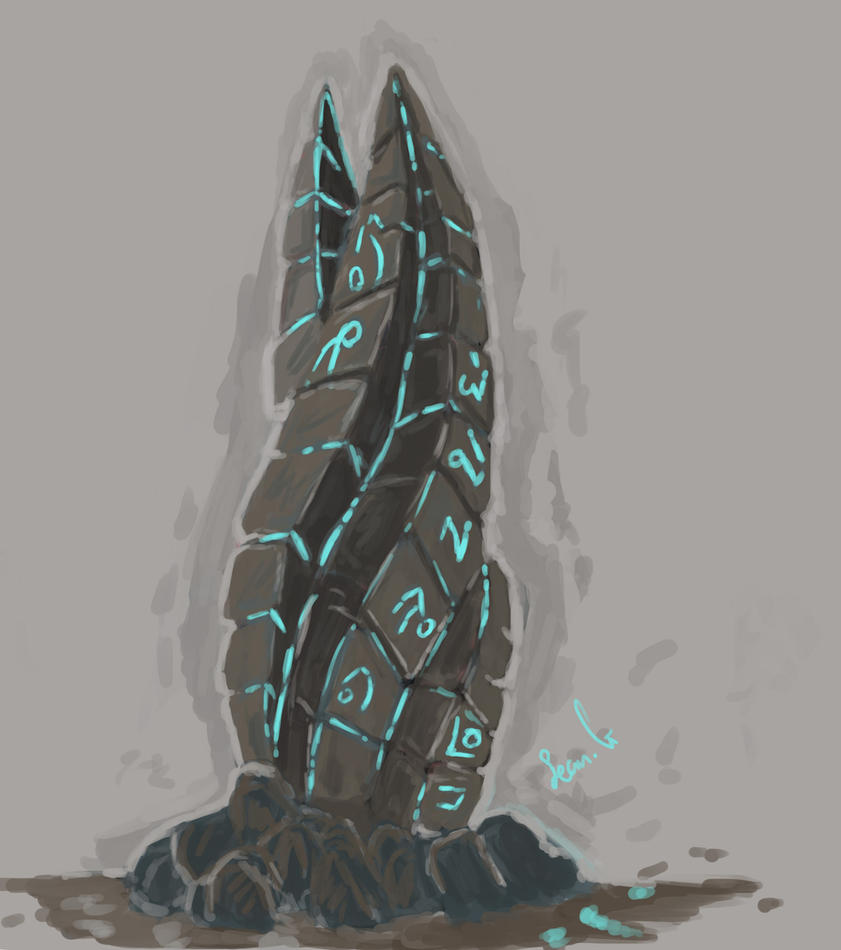 dead space marker stone by seangore