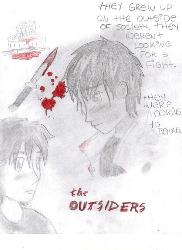 The Outsiders- Movie Poster by Madd-Mikk on DeviantArt