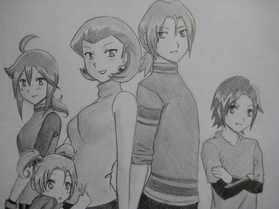 Team Rocket Family by maimai97