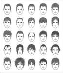 Men's Hair - Set 1