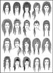 Men's Hair - Set 2