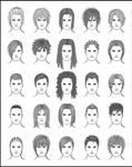 Men's Hair - Set 4