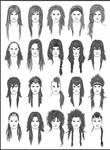 Men's Hair - Set 6