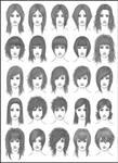 Women's Hair - Set 2