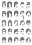 Women's Hair - Set 4