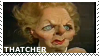 Spitting Image - Thatcher Stamp by ABOMinableSpectra