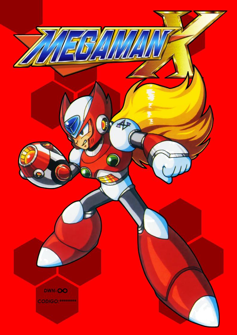 Megaman x zero book front by aracelicasandra on deviantart for Megaman 9 portada