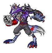 Digimon: Amarokmon by ARACELICASANDRA