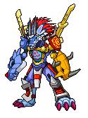 Digimon: Garurugreymon by ARACELICASANDRA