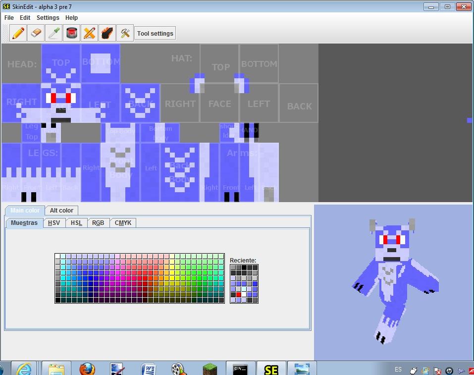 Minecraft Wolf Boy Skin Blue Boy Minecraft Skin