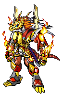Digimon CrossX DNA: Emperordramon by ARACELICASANDRA