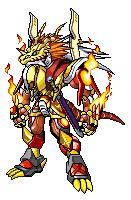 Digimon CrossX DNA: Emperordramon by ARACELICASANDRA