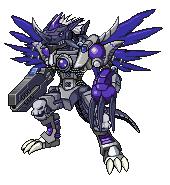 Digimon Fusion: Metal-Teradramon by ARACELICASANDRA