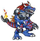 Digimon: Metal Allomon by ARACELICASANDRA