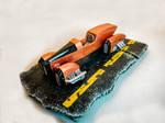 Hover Dieselpunk car 3d printed by tomasla